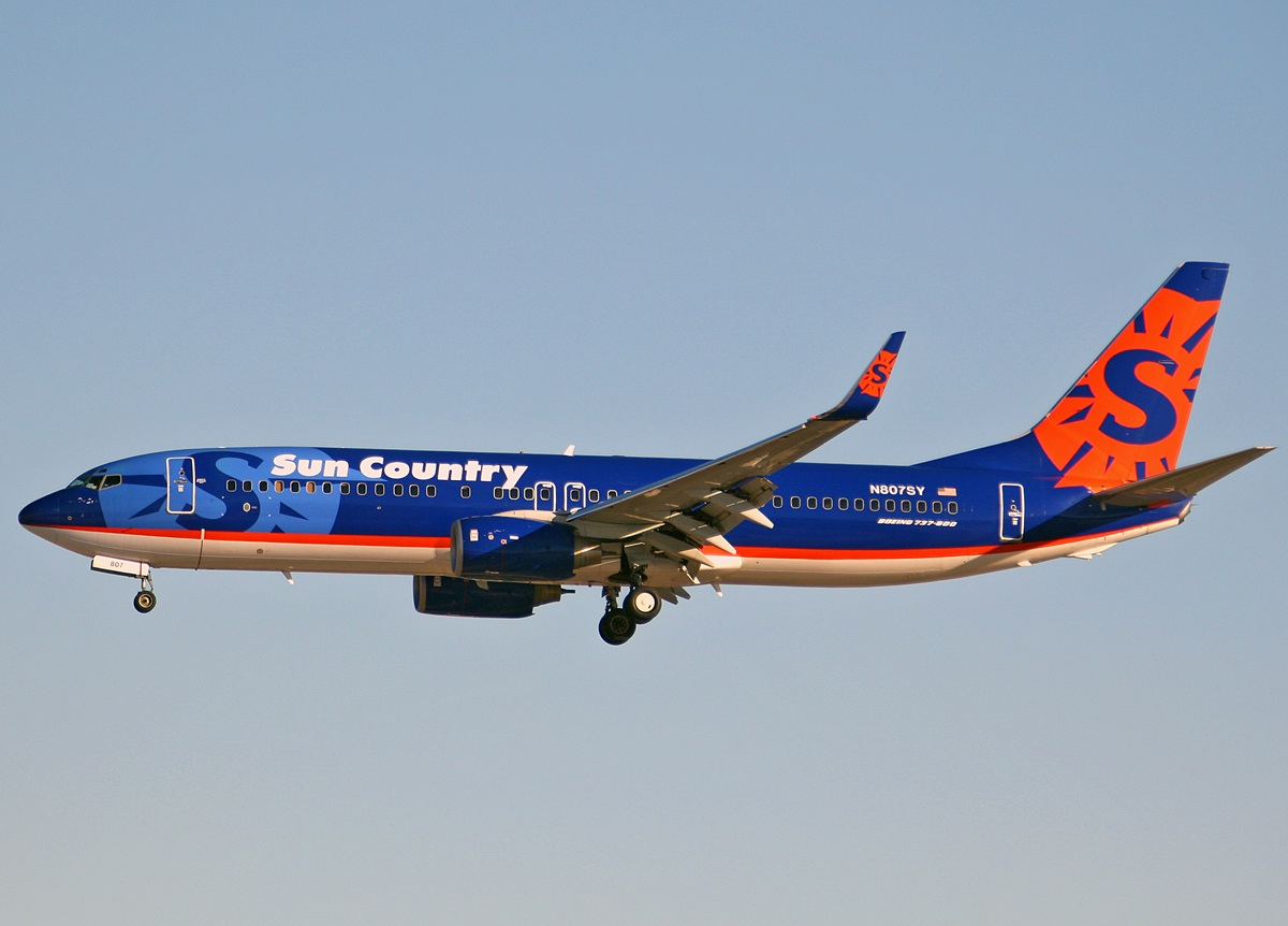 Sun Country Airlines 737