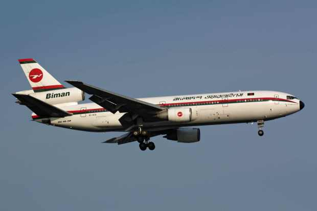 Please click on photo for full view, information and other Biman aircraft.