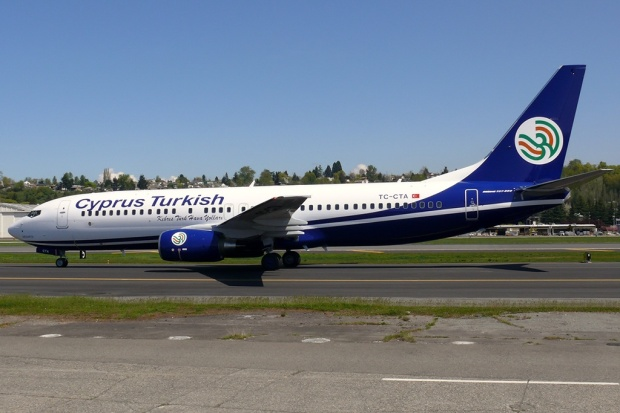 Brand new Boeing 737-86N TC-CTA (msn 35643) taxies at Seattle (King County-Boeing Field) in the new look.  Copyright Photo: Rick Schlamp.
