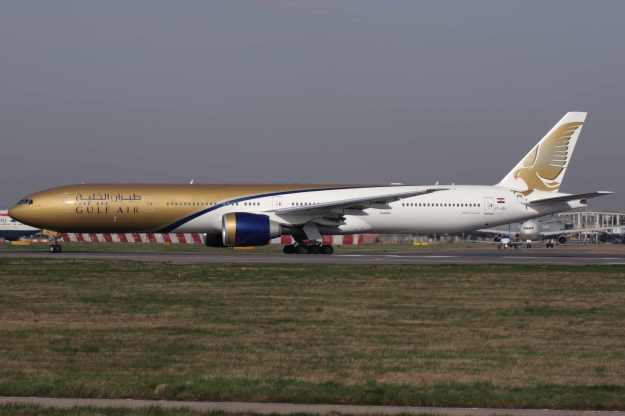 Please click on photo for full view, information and other Gulf Air aircraft.