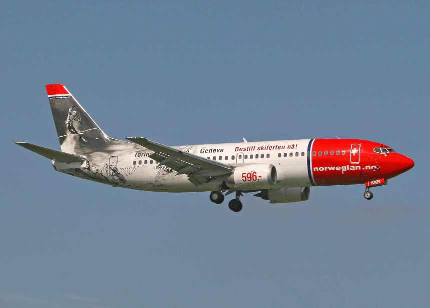 Please click on photo for full view, information and other Norwegian aircraft.