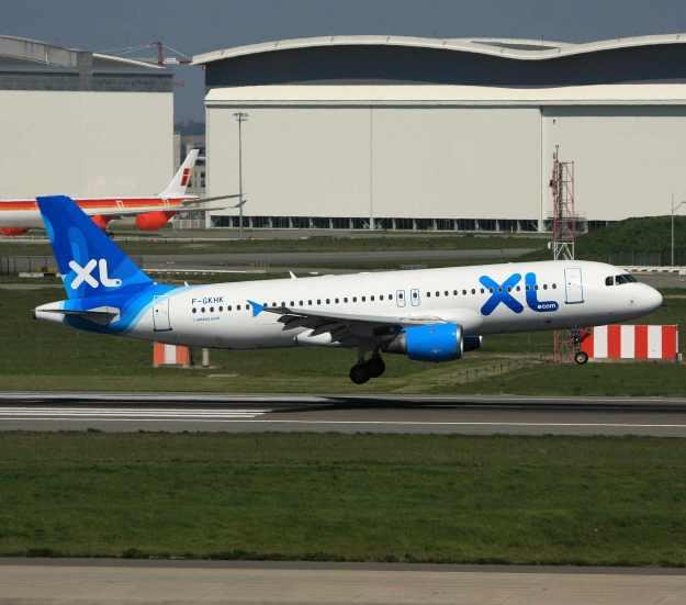 F-GKHK lands at Toulouse.  Copyright Photo: Yannick Delamarre.