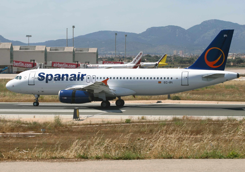 vols low cost avec Spanair