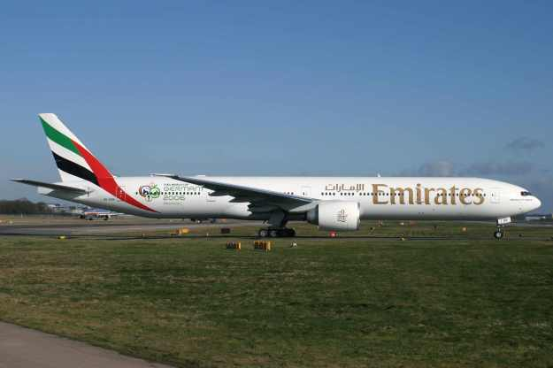 Please click on photo for full view, information and other Emirates photos.