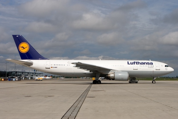 Sister ship A300B4-605R D-AIAZ (msn 701) is pictured at Nuremberg before it was retired.  Copyright Photo: Gunter Mayer.