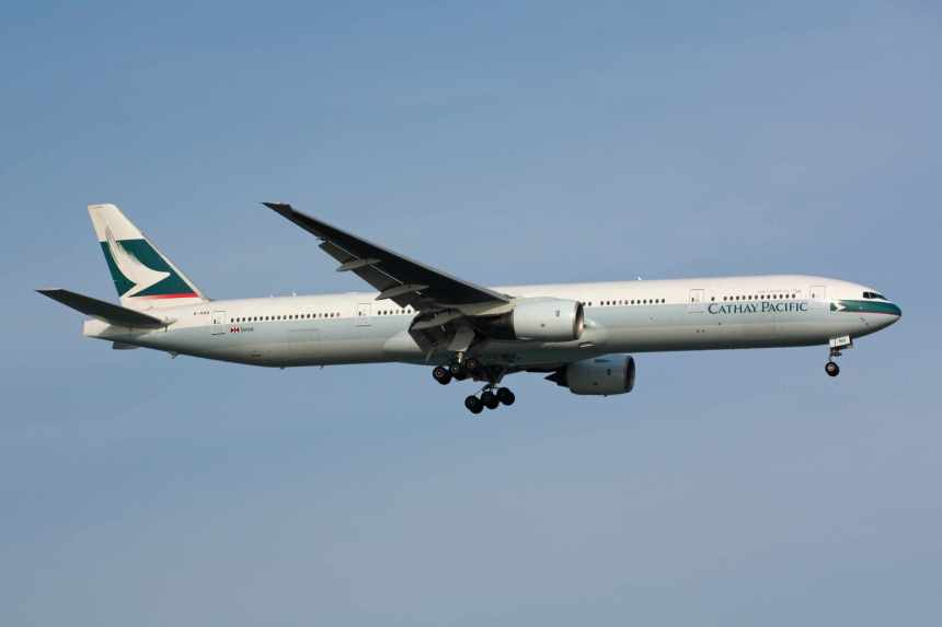 Please click on photo for full view, information and other Cathay Pacific photos.