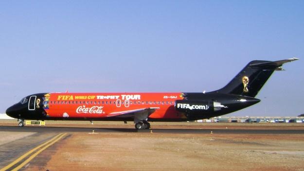 ZS-GAJ departs from Johannesburg.  Copyright Photo: Global Aviation.