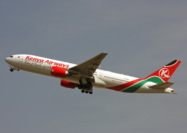 Copyright Photo: Keith Burton.  Kenya Airways has been a loyal Boeing customer but some leases will soon be expiring.  Please click on photo for more photos.