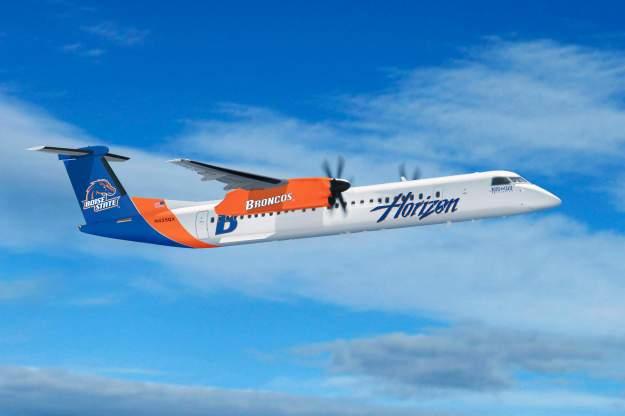 Horizon DHC-8-400 (09-Boise State)(Flt)(Horizon)(LR)
