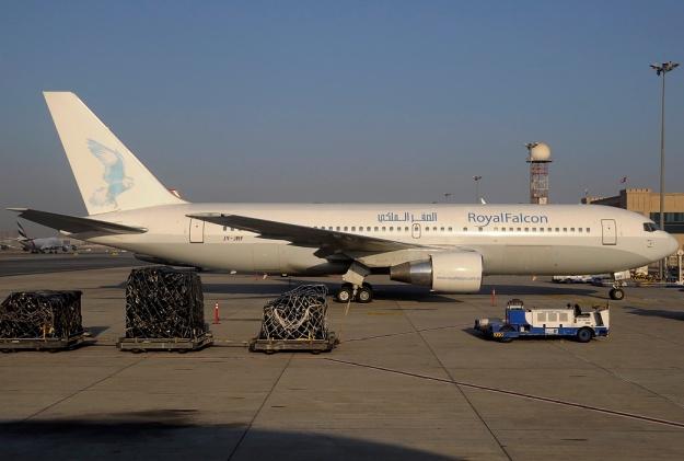 Royal Falcon 767-200 JY-JRF (08)(Grd) DXB (PDN)(LR)
