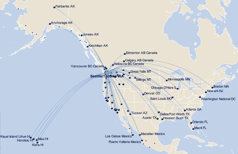 Alaska Airlines Adds Summer Service From Portland To