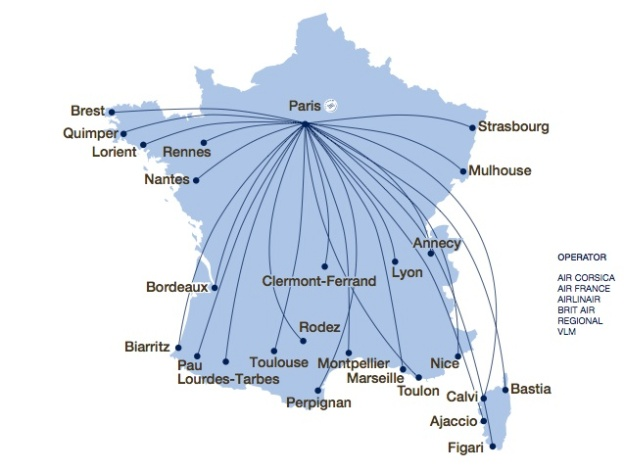 Air France opens up a new strategy to combat low-cost carriers ...