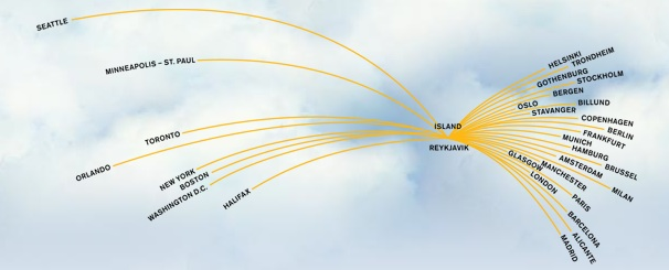 Icelandair Route Map Norway on republic airways holdings route map, lot polish route map, flying tiger line route map, florida route map, jfk airtrain route map, biman route map, airline route map, delta airlines 757 seat map, xl airways route map, union pacific railroad route map, jetblue route map, tacv route map, tame route map, casino express route map, new jersey transit route map, south african airways route map, volaris route map, xtra airways route map,