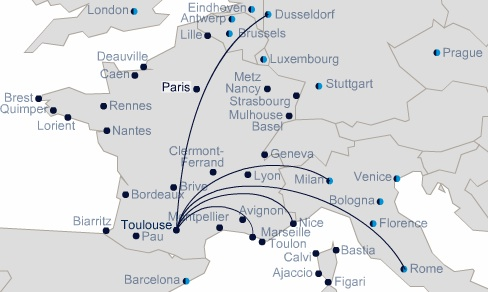 """Air France announces the second """"Offensive in the French Provinces ..."""