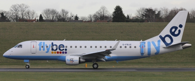 Flybe puts its first Embraer ERJ 175 into revenue service ... - photo#23