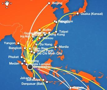 Jetstar Asia World Airline News - Japan jetstar map