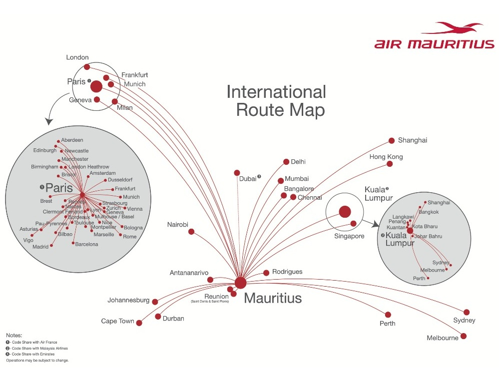 Air Mauritius due to mounting losses will reduce its nonstop route ...