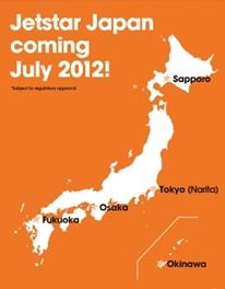 Jetstar Japan World Airline News - Japan jetstar map
