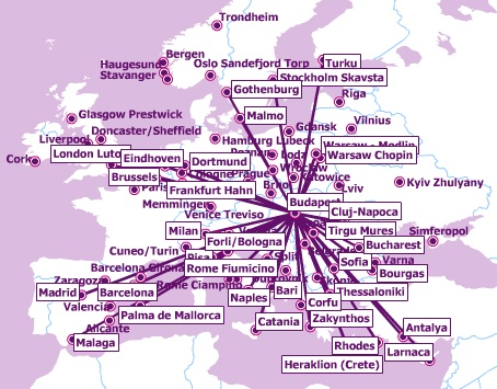 Wizz Air Route Map Wizz Air to expand its Budapest operation | World Airline News