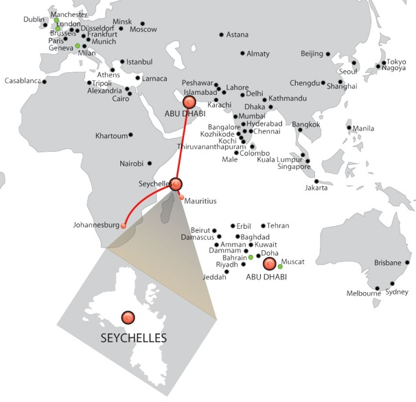 World Airline Route Map http://worldairlinenews.com/tag/etihad-airways/