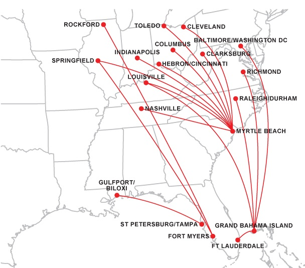 Flights From Columbus Ohio To Myrtle Beach South Carolina