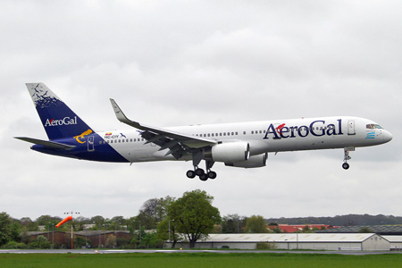 Jet2 acquires the former Boeing 757-2K2 HC-CIY of AeroGal
