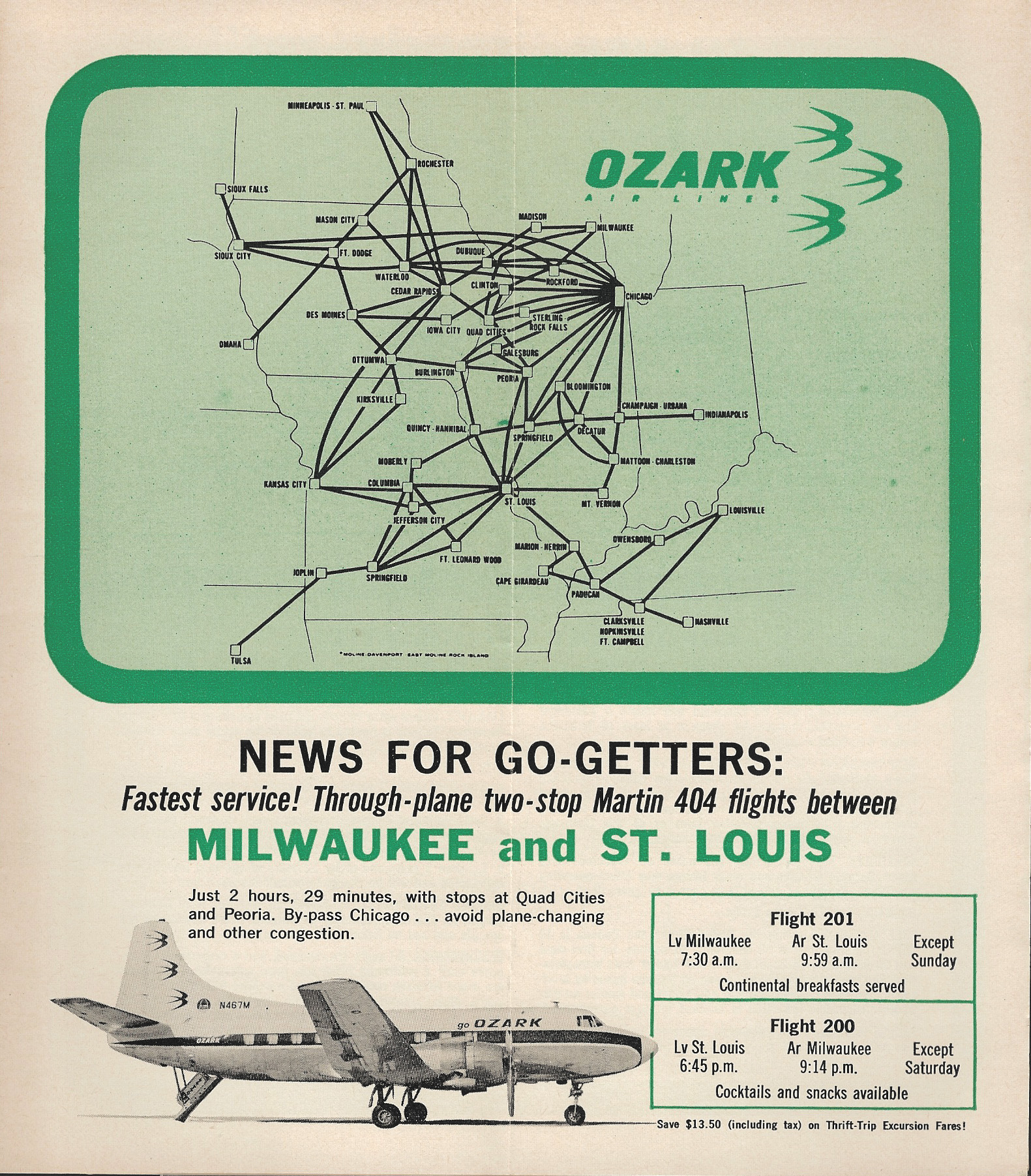 Ozark Airlines | World Airline News