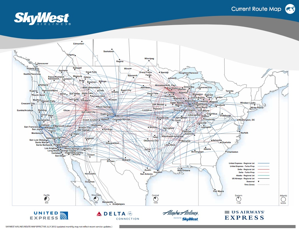SkyWest orders 100 Mitsubishi Regional Jets | World Airline News on american route map, airtran airlines route map, pacific wings route map, air macau route map, national airlines route map, delta air lines route map, jetblue airlines route map, delta international route map, frontier airlines route map, key lime air route map, expressjet route map, atlas air route map, volaris route map, independence air route map, trans states airlines route map, island air route map, tap air portugal route map, luxair route map, united route map,