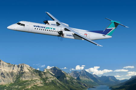 WestJet DHC-8-400 (95)(Flt)(Bombardier)(LRW)