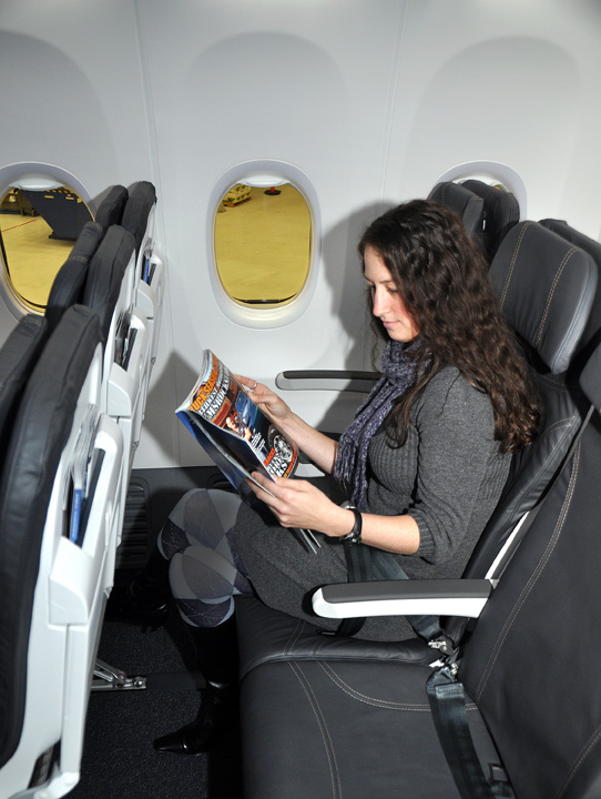 Alaska Airlines puts its first Boeing 737-900 ER with new Recaro ...