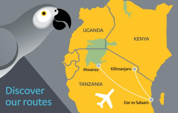 Fastjet 11:2012 Route Map
