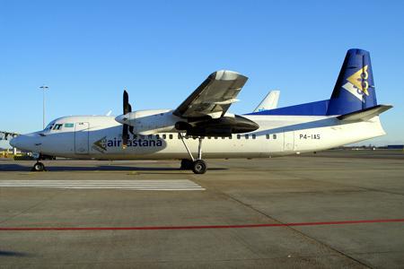 Air Astana F27 Mk 050 P4-IAS (02)(Grd) AMS (HD)(LRW)