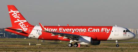 AirAsia A320-200 F-WWIC (9M-AQQ)(12)(Grd) TLS (YD)(LRW)