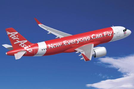 AirAsia A320-200neo (Flt)(Airbus)(LRW)