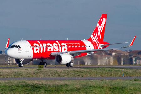 AirAsia (Malaysia) A320-200 F-WWIC (9M-AQQ)(12)(Grd) TLS (Airbus)(LRW)