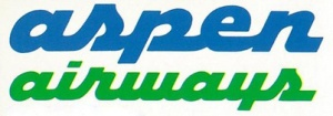 Aspen Airways 2-tone logo