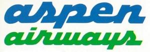 Aspen Airways 2-tone logo