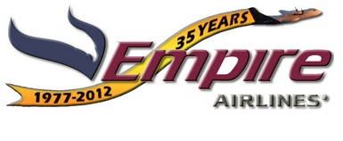 Empire Airlines (Idaho)-35 Years logo