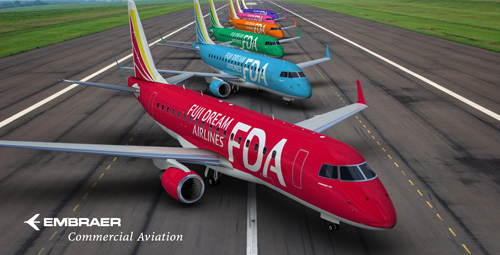 FDA-Fuji Dream Airlines Fleet (Embraer)(LRW)
