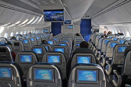 LOT Polish 787-8 SP-LRA (11)(Cabin)(GST)(LRW)