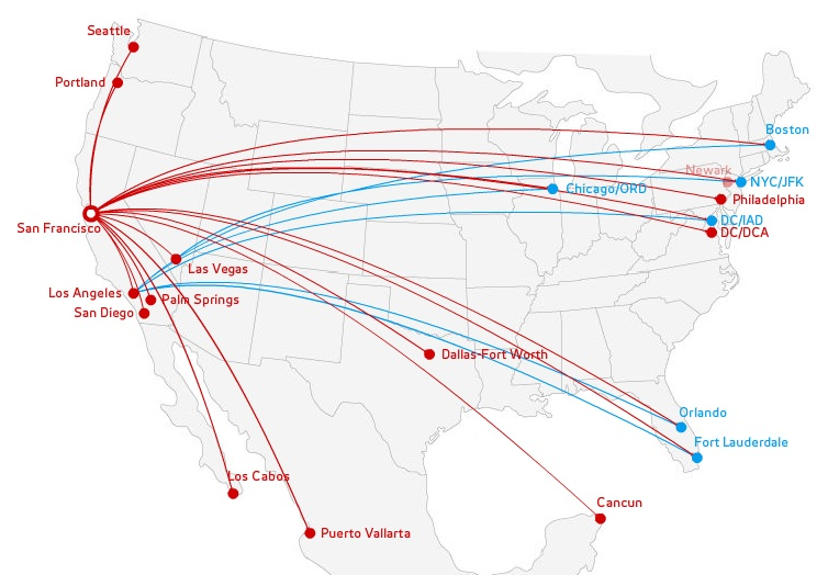 virgin-america-sfo-122012-route-map Sfo Google Map on iah map, ewr map, mke map, hnl map, iad map, bart map, sna map, key west airport terminal map, ksfo gate map, mexico city airport terminal map, bay area airports map, cleveland airport terminal map, ord map, bos map, cmh map, mco map, cvg map, lax map, car map,