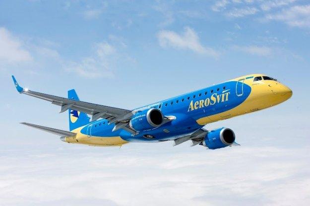 AeroSvit ERJ 190-100 UR-DSA (11)(Flt)(AeroSvit)(LR)