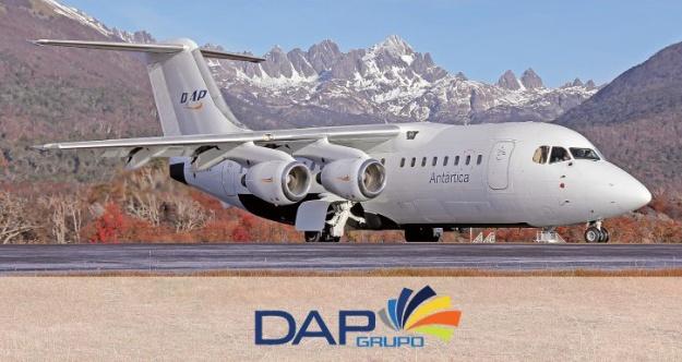 Aerovias DAP Antartica RJ85 (Aerovias DAP)(LR)