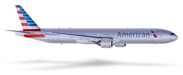 American 777-300 (13)(Flt)(American)(LR)