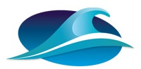 California Pacific wave logo