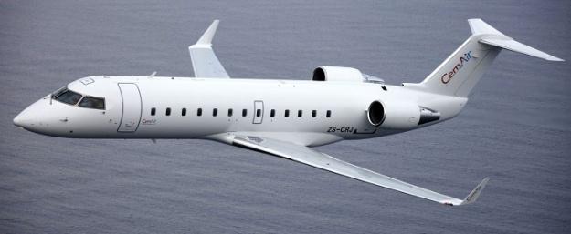 CemAir CRJ100 ZS-CRJ (white)(Flt)(CemAir)(LR)