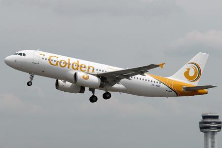 Golden Myanmar A320-200 XY-AGS (13)(Tko) SZB (TKA)(LRW)