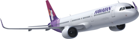 HAWAIIAN AIRLINES AIRBUS A321NEO