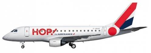 Hop! ERJ 170 (Air France)(LR)