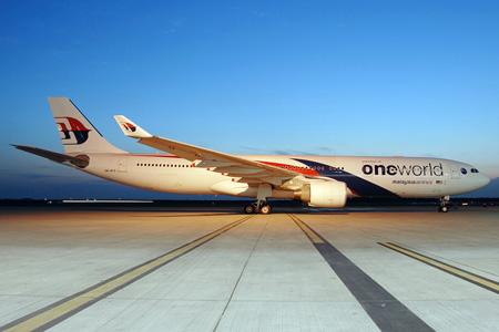 Malaysia A330-300 9M-MTE (09-Oneworld)(Grd) KUL (TKA)(LRW)
